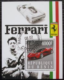 Poštovní známka Benin 2015 Ferrari Mi# N/N