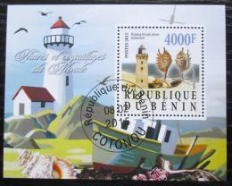 Poštovní známka Benin 2015 Majáky Mi# N/N