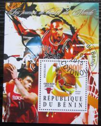 Poštovní známka Benin 2015 Basketbal, Michael Jordan Mi# N/N