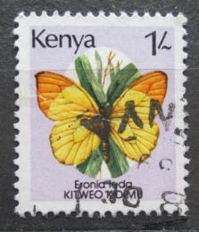 Poštovní známka Keòa 1988 Eronia leda, motýl Mi# 420