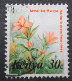 Poštovní známka Keòa 1983 Barleria eranthemoides Mi# 242