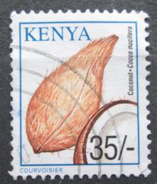 Poštovní známka Keòa 2001 Kokosovník oøechoplodý Mi# 754