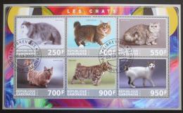 Poštovní známky Gabon 2017 Koèky Mi# N/N