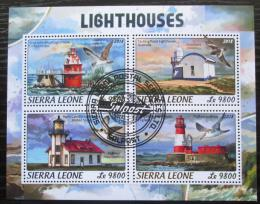 Poštovní známky Sierra Leone 2018 Majáky Mi# 9654-57 Kat 11€