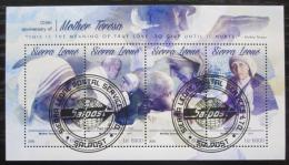 Poštovní známky Sierra Leone 2015 Matka Tereza Mi# 6632-35 Kat 11€