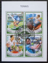 Poštovní známky Sierra Leone 2018 Tenis Mi# 10126-29 Kat 11€