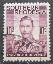 Poštovní známka Jižní Rhodésie, Zimbabwe 1937 Král Jiøí VI. Mi# 49