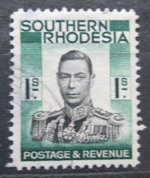 Poštovní známka Jižní Rhodésie, Zimbabwe 1937 Král Jiøí VI. Mi# 50
