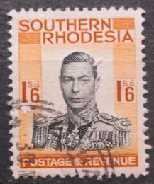 Poštovní známka Jižní Rhodésie, Zimbabwe 1937 Král Jiøí VI. Mi# 51