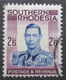 Poštovní známka Jižní Rhodésie, Zimbabwe 1937 Král Jiøí VI. Mi# 53 Kat 7€
