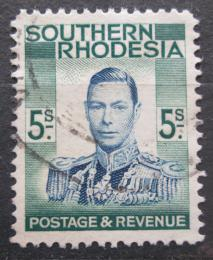 Poštovní známka Jižní Rhodésie, Zimbabwe 1937 Král Jiøí VI. Mi# 54 Kat 5€