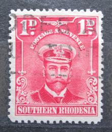 Poštovní známka Jižní Rhodésie, Zimbabwe 1924 Král Jiøí V. Mi# 2