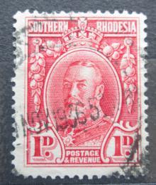 Poštovní známka Jižní Rhodésie, Zimbabwe 1933 Král Jiøí V. Mi# 16