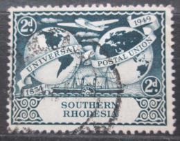 Poštovní známka Jižní Rhodésie, Zimbabwe 1949 UPU, 75. výroèí Mi# 70
