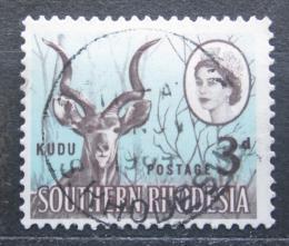 Poštovní známka Jižní Rhodésie, Zimbabwe 1964 Kudu velký Mi# 97
