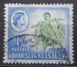 Poštovní známka Rhodésie a Òasko 1959 Sbìr tabáku Mi# 27