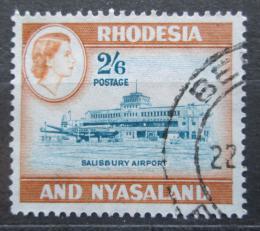 Poštovní známka Rhodésie a Òasko 1959 Letištì v Salisbury Mi# 30