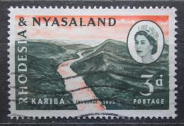 Poštovní známka Rhodésie a Òasko 1960 Vodní dílo Kariba Mi# 34