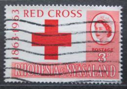 Poštovní známka Rhodésie a Òasko 1963 Mezinárodní èervený køíž Mi# 49