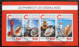 Poštovní známky SAR 2018 Majáky a mušle Mi# N/N