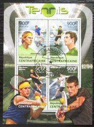 Poštovní známky SAR 2013 Svìtoví tenisti Mi# 4226-29 Kat 16€