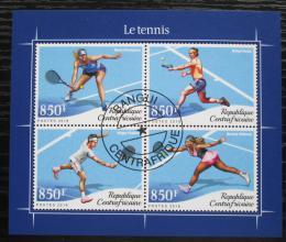Poštovní známky SAR 2018 Svìtoví tenisti Mi# N/N