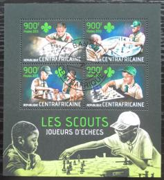 Poštovní známky SAR 2013 Skauti a šachy Mi# 4351-54 Kat 16€