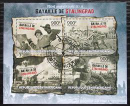 Poštovní známky SAR 2013 Bitva u Stalingradu, 70. výroèí Mi# 4082-85 Kat 16€