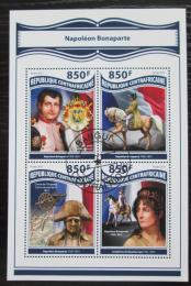 Poštovní známky SAR 2017 Napoleon Bonaparte Mi# 7450-53 Kat 15€