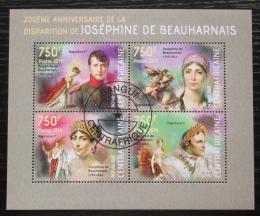 Poštovní známky SAR 2014 Joséphine de Beauharnais Mi# 4495-98 Kat 14€