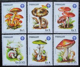 Poštovní známky Paraguay 1985 Houby Mi# 3835-40 Kat 8.50€