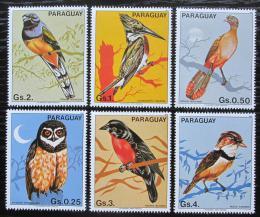 Poštovní známky Paraguay 1983 Ptáci Mi# 3668-73