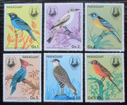 Poštovní známky Paraguay 1985 Ptáci, Audubon Mi# 3863-68