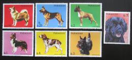 Poštovní známky Paraguay 1986 Psi Mi# 4012-18