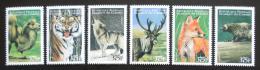 Poštovní známky Komory 1999 Savci Mi# 1648-53 Kat 13€