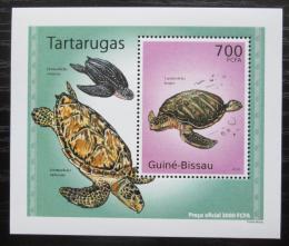 Poštovní známka Guinea-Bissau 2010 Želvy DELUXE Mi# 5029 Block