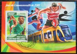 Poštovní známka SAR 2018 Hry Commonwealthu Mi# Block 1768 Kat 16€
