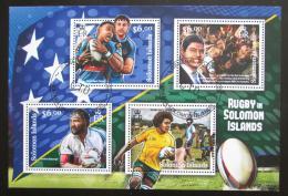 Poštovní známky Šalamounovy ostrovy 2012 Rugby Mi# 1626-29 Kat 8€