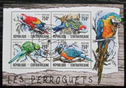 Poštovní známky SAR 2016 Papoušci Mi# 6300-03 Kat 14€