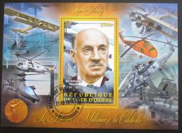 Poštovní známka Pobøeží Slonoviny 2013 Igor Sikorskij,letecký konstruktér Mi# N/N