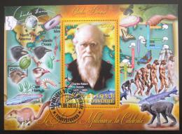 Poštovní známka Pobøeží Slonoviny 2013 Charles Darwin Mi# N/N