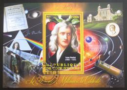 Poštovní známka Pobøeží Slonoviny 2013 Isaac Newton Mi# N/N
