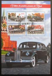 Poštovní známky Pobøeží Slonoviny 2017 Sovìtská prezidentská auta Mi# N/N