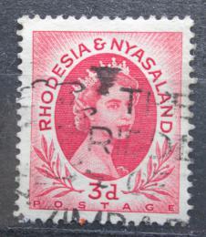 Poštovní známka Rhodésie a Òasko 1954 Královna Alžbìta II. Mi# 5