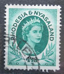 Poštovní známka Rhodésie a Òasko 1954 Královna Alžbìta II. Mi# 7