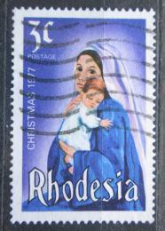 Poštovní známka Rhodésie, Zimbabwe 1977 Vánoce Mi# 200