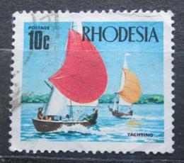 Poštovní známka Rhodésie, Zimbabwe 1970 Plachetnice Mi# 94