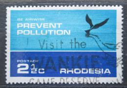 Poštovní známka Rhodésie, Zimbabwe 1972 Ochrana životního prostøedí Mi# 119