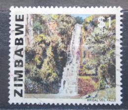 Poštovní známka Zimbabwe 1980 Vodopády Bridal Veil Mi# 240