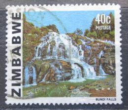 Poštovní známka Zimbabwe 1983 Vodopády Bundi Mi# 271 Kat 7€